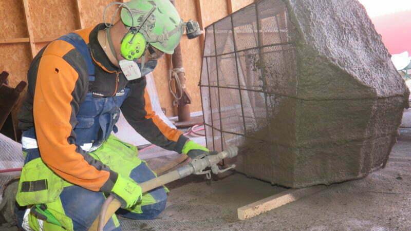Vi skapar konststen av betong - BESAB