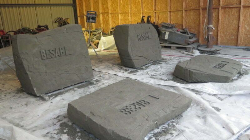 skulptera i betong