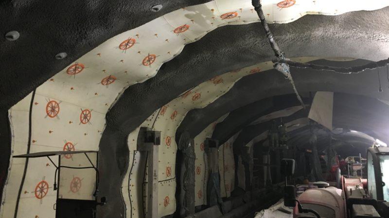Betong mot bvatten och frost i berg - tunnel - BESAB