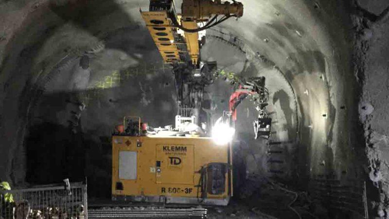 Spiling Subterra - betong i tunnel - BESAB