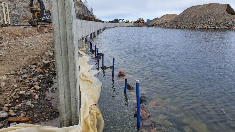 Pålning vid vattenbryn - BESAB