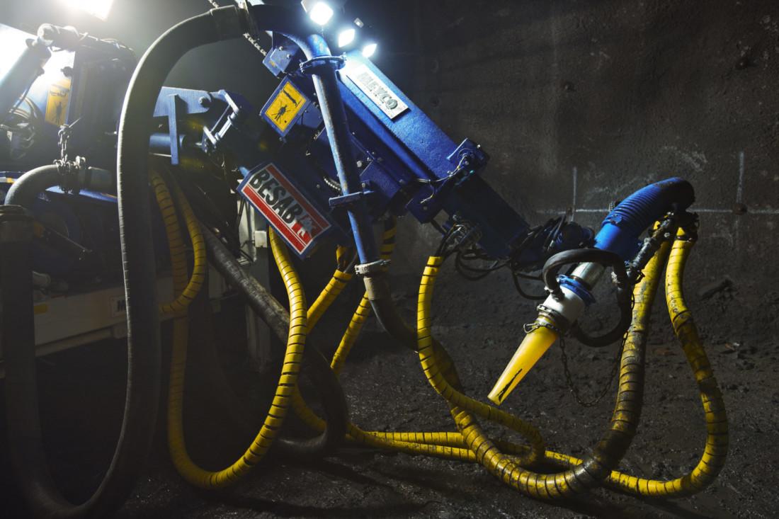 BESAB betongstprutning med robot
